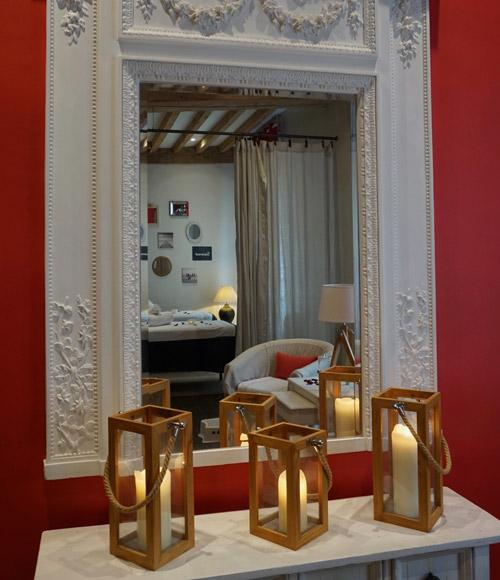 Massages LL bougies miroir