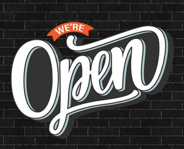 Yes we are OPEN !